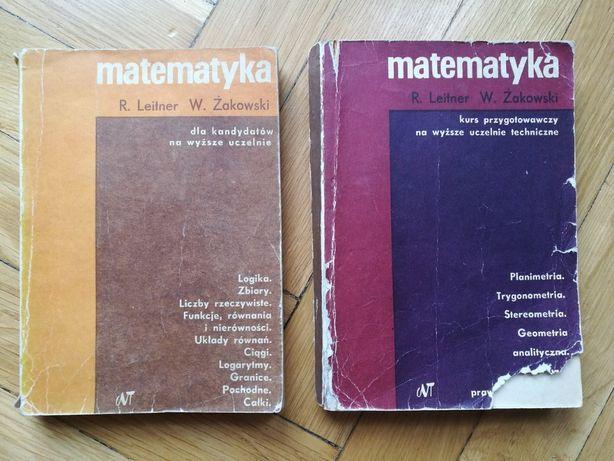 Matematyka /Leitner Żakowski / podręcznik / komplet