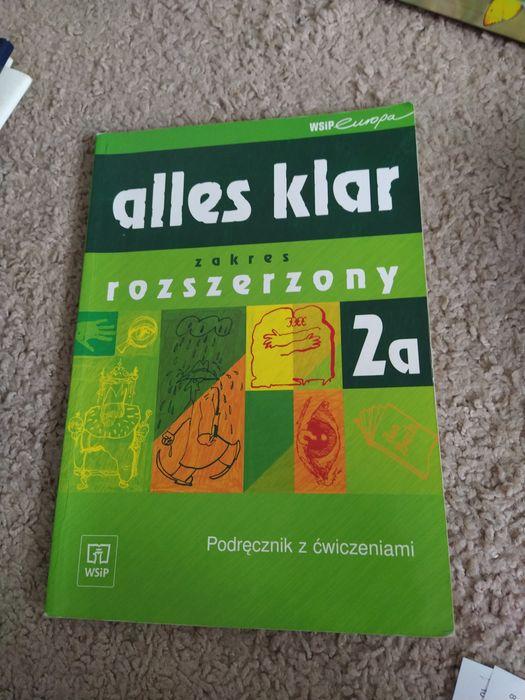 Podręcznik Alles Klar 2a zakres rozszerzony język niemiecki Stalowa Wola - image 1