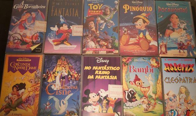 Cassetes VHS Crianças