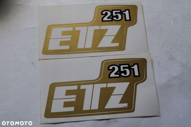 NAKLEJKA NAKLEJKI MZ ETZ 250 2 szt