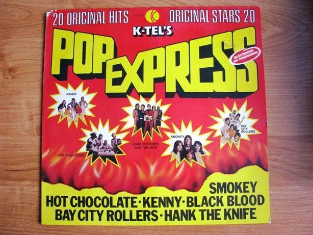Pop Express Winyl - hity 70', zamiana na znaczki pocztowe