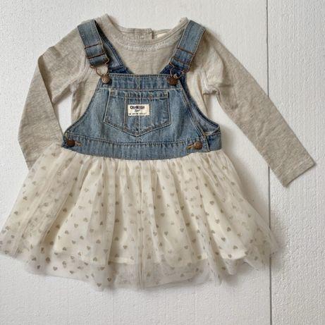 Нарядное платье сарафан юбка ту ту OshKosh 2-3 года