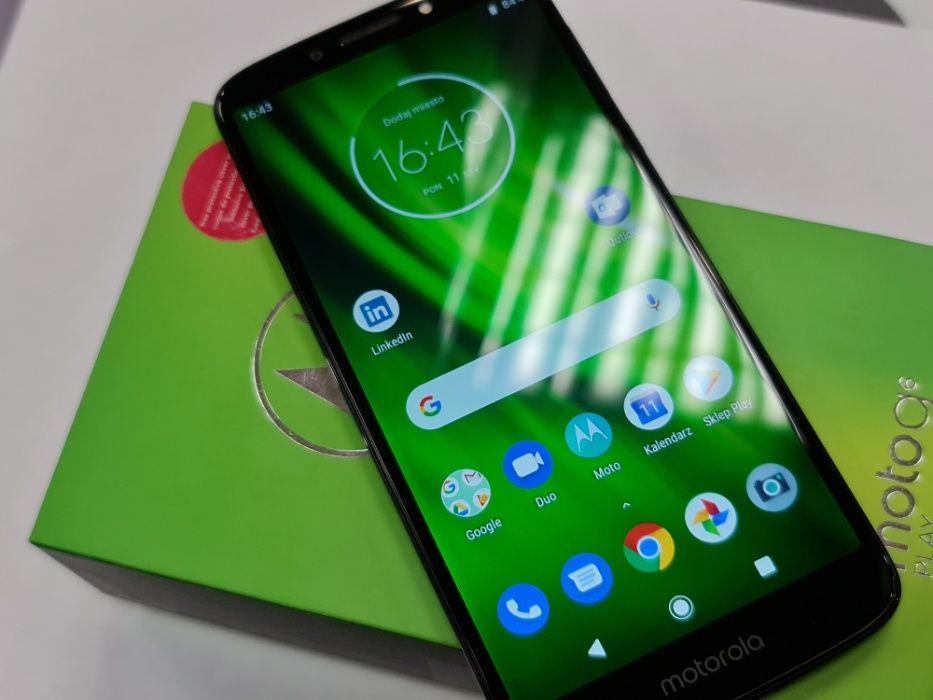 Motorola Moto G6 Dual SIM/ 3GB / 32GB/ Deep Indigo/ Gwarancja/ BDB Gdynia - image 1