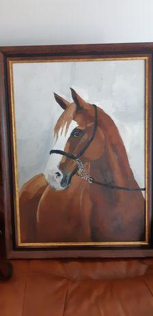 Obraz konia olejny