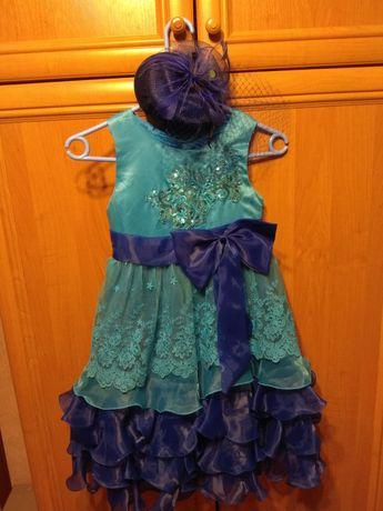 Нарядное платье (ночная Фея,  зимняя фея)