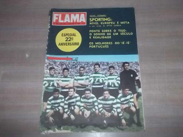 SPORTING 1966 FLAMA nº949 SPORTING de NÍVEL EUROPEU Artigo OTTO GLÓRIA