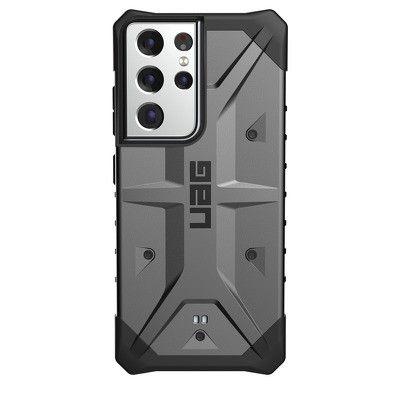 Capa Rígida/Semi Rígida Traseira ( Uag ) Urban Gear Pathfinder Samsung S21 Ultra Prateado