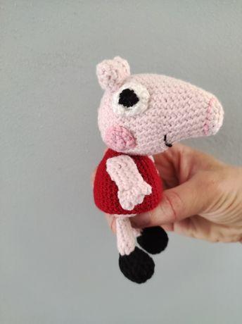 Свинка Пеппа іграшка вязана