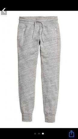 Спортивные брюки H&M 46 серые