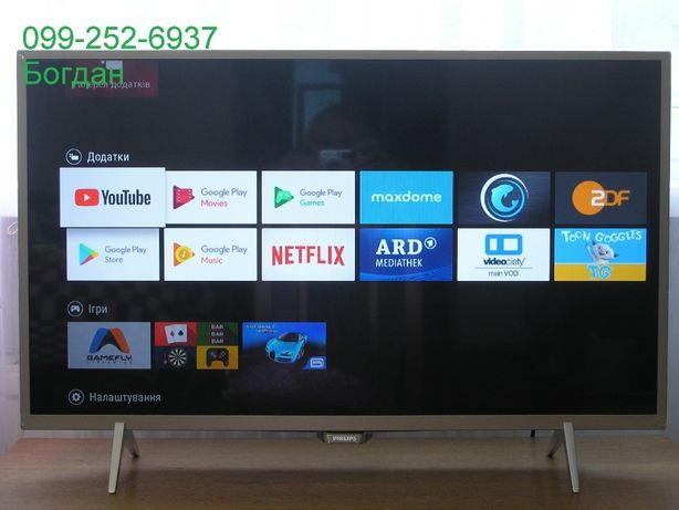 Телевізор Smart,Android Philips 32PFS6402/12 новий