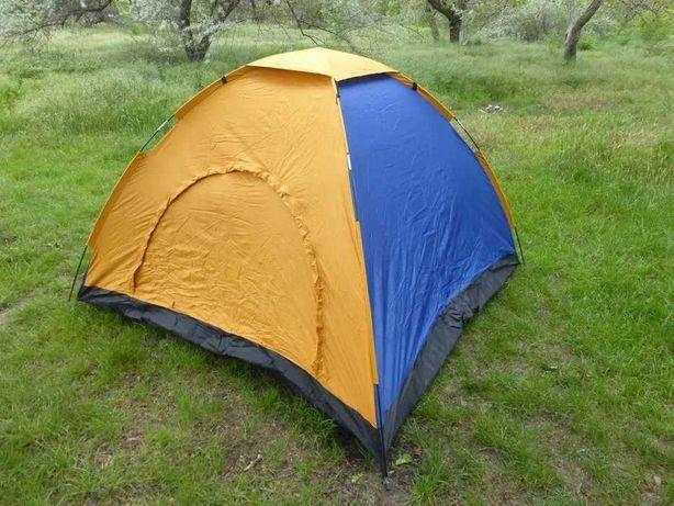 Палатка туристическая 2*2*1.35 cм  намет туристичний  не автомат