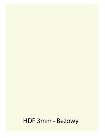 Płyta HDF beż - Format A4 297x210, 3mm - Cięta laserowo