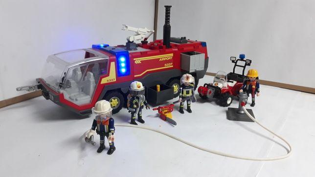 Playmobil pojazdy ratownicze strażackie