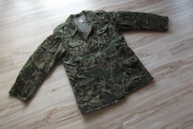 Kurtka wojskowa , bechatka , zimowa z podpinką , r 98/181
