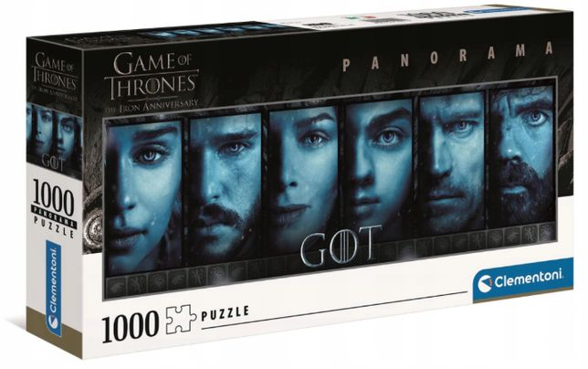 Puzzle GRA O TRON Panorama Clementoni 1000 Game of thrones GOT
