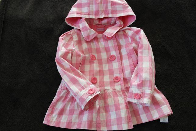 Bambini- śliczny, dziewczęcy płaszczyk - 2-3 latka - rozm 98