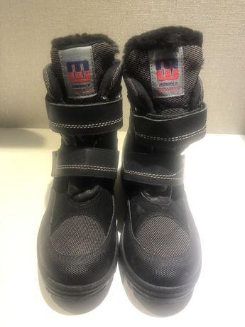 Зимние ботинки на цигейке , 35 р