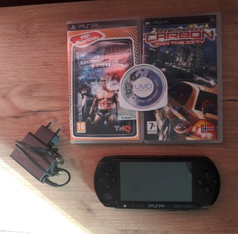 PSP Play station Portable konsola zestaw gry need for Speed