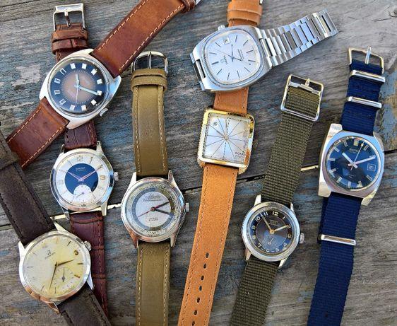 Zamienie zegarki Omega, Seiko, Atlantic