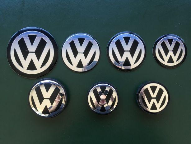 Centros de Jantes VW Volkswagen Golf Passat bora Polo Fox scirocco