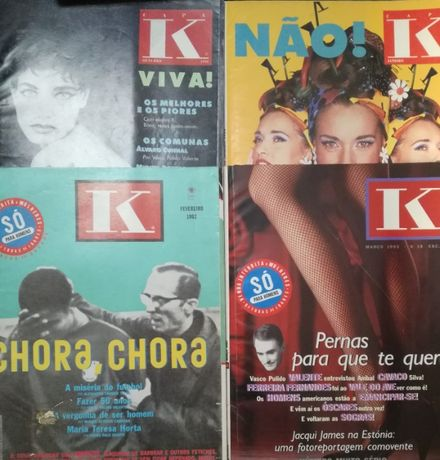 Revista K - Miguel Esteves Cardoso