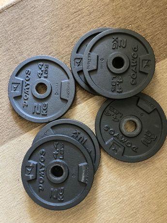 Kit de musculação