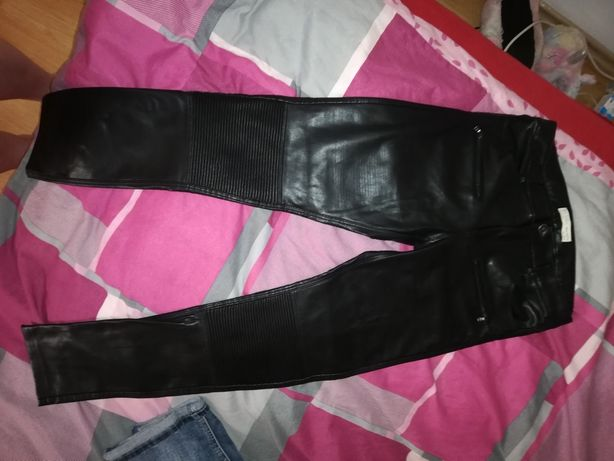 Spodnie Zara skay