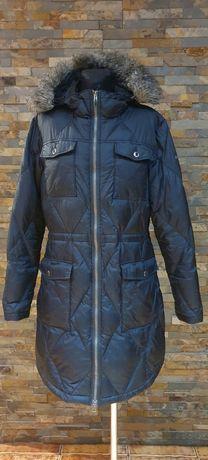 COLUMBIA OMNI-SHIELD rozmiar L płaszcz puchowy długa kurtka