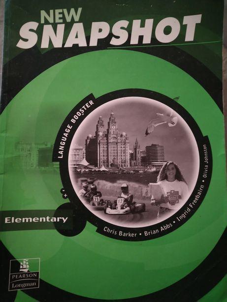 """Ćwiczenie do j.angielskiego""""New Snapshot"""" elementary. Wyd.Longman"""