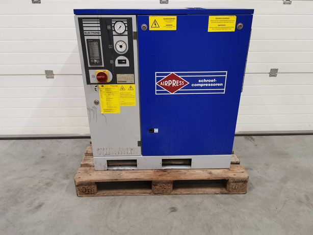 Sprężarka śrubowa 7.5kw AIRPRESS kompresor 1000l/min 10 BAR