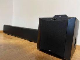 Sprzedam Soundbar Yamaha YSP 5600 + Subwoofer Yamaha NS-SW 300