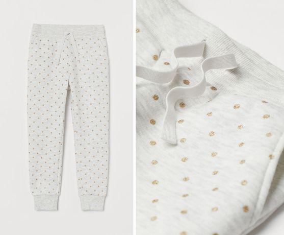 Спортивные штаны утепленные H&M на флисе спортивки на 3 года