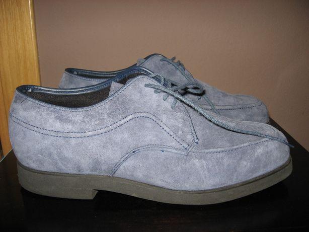 Markowe męskie skórzane buty półbuty jak nowe! HUSH PUPPIES 43 OKAZJA