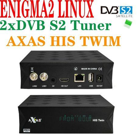 Dekoder Tuner SAT AXAS Twin zgemma oscam cccam enigma2