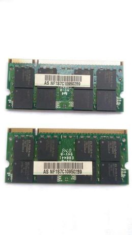 Memorias Ram GDDR2 ,1GB(2 unidades)