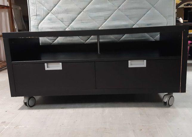 Móvel Preto p/ TV Multimédia IKEA Besta Jagra