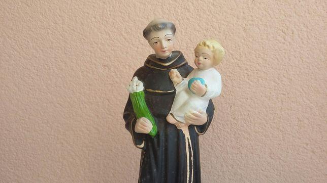 Estatueta Santo António com menino