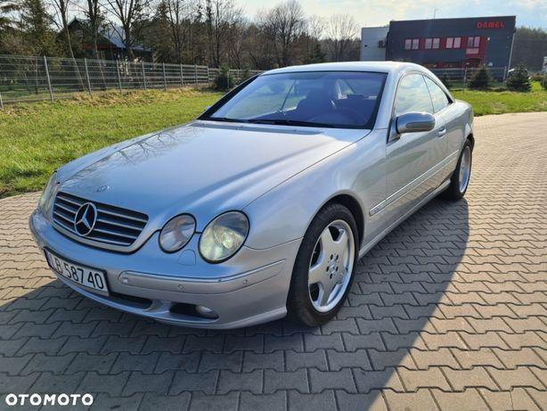 Mercedes-Benz CL C215 CL600 V12 *Doinwestowany* książka serwisowa, kpl.dokumentów