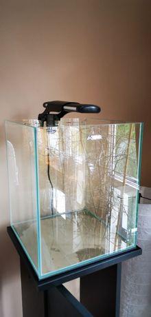 Akwarium CUBE 29X29X35cm. + filtr + grzałka + szafka + zestaw CO2