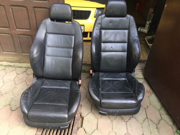 Fotele Recaro Bora Golf GTI VR6 R32 S3 Leon Cupra skóra 5D