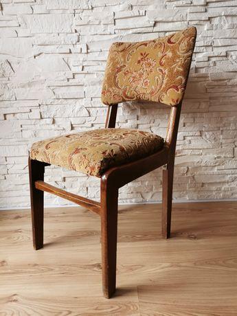 Krzesło typ 296 Hałas PRL vintage krzesła