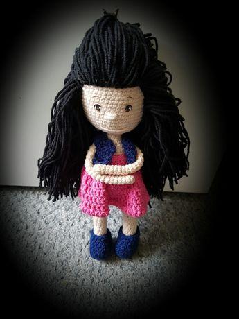 amigurumi lalka na szydełku 25 cm