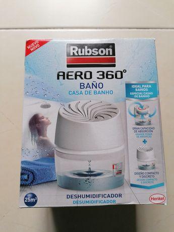 Desumidificador AERO 360º da Rubson