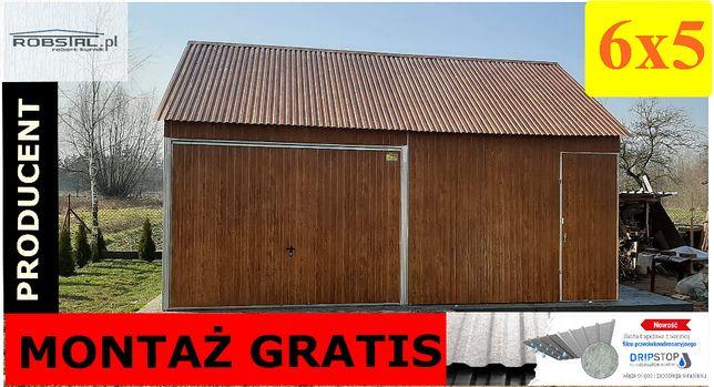 Budynek gospodarczy 6x5 garaże blaszane, kojce dla psów PRODUCENT