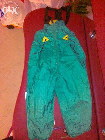 Продам зимние теплые штаны-комбинезон