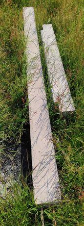 Nadproża keramzytowe 2 sztuki 16cmx15cm (długości 245cm i 132cm)