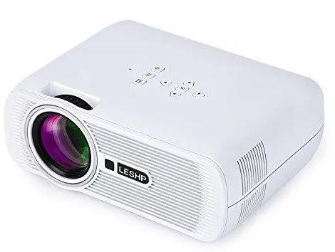 Mini Projektor Led, Przenośny, 1300 LM, 1080P