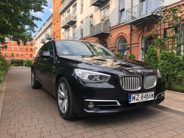 BMW 5GT 520d, Salon Polska, ASO, bezwypadkowy, org. przebieg.