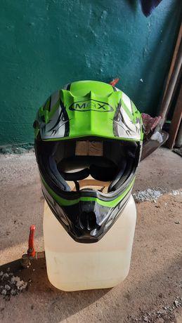 Kask motocyklowy typu cross roz.xl