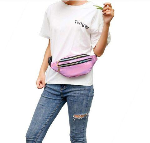 Бананка сумка на пояс для девочки есть разные цвета отличное качество